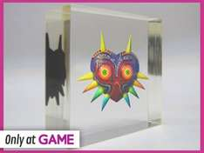 The Legend of Zelda: Majora's Mask 3D (3DS) with Majora Mask Paperweight £32.99 @ Game