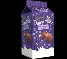 Cadbury Dairy Milk Chocolate Chunks 166g Carton Now £1 @ Morrisons