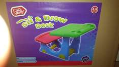 Chad Valley sit and draw desk £12.49 instore @ Argos
