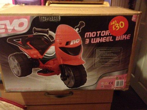 Evo motorised bike £15 @ Asda instore