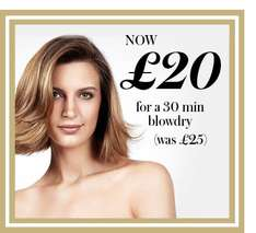£5 off on blowdry @ blow fast beauty £20