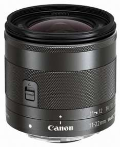 Canon EF-M 11-22mm f/4-5.6 IS STM Lens £292.72 @ amazon