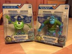 "Monsters university scare students 5"" figures £1.99 home bargains"