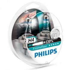 Philips Xtreme Vision PLUS 130% Extra Light - H7 Twin Pack £19.99 @ EuroCarParts