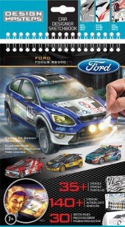 Design Masters Ford Focus RS500 Designer Sketchbook & 6 Ford Official Colour Pencils £1.99 at Home Bargains