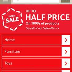 Tesco direct sale online now