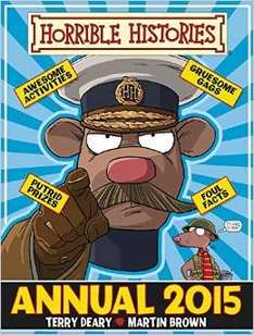 Horrible Histories Annual 2015 £2 @ Amazon