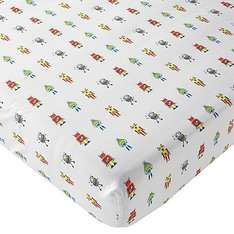 George Asda boys single robot fitted sheet £2.10 with code KIDS30