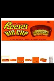 Reese's Peanut Butter Big Cup 39g (Pack of 16) - £9.19 Amazon Prime
