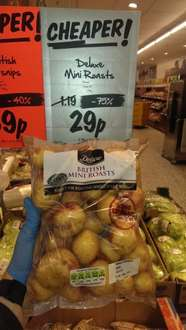 Deluxe mini King Edward roast potatoes 1.5kg - only 29p at Lidl!