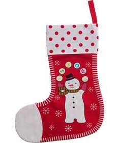 Christmas Stocking Reduced By 80% @ Argos - £1.99