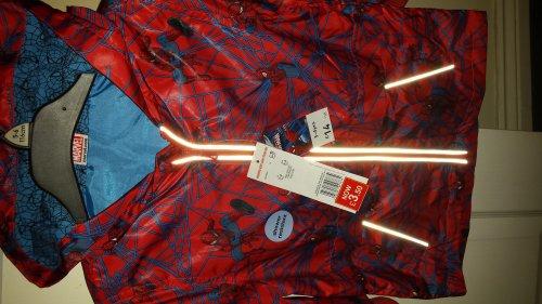 boys spiderman shower resistant coat  £3.50 @ Tesco instore