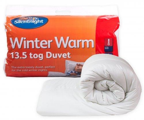 Silentnight Winter Warm 13.5 TOG Duvet - Single £14 @ Amazon
