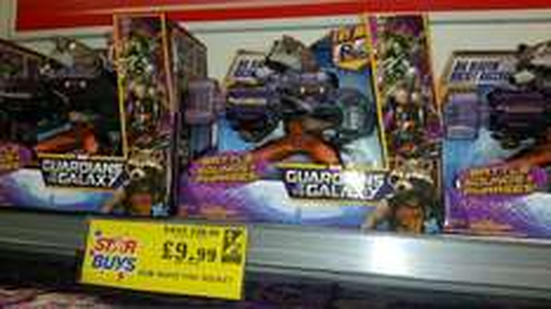 guardians of the galaxy paid fire gun £9.99 @ home bargains