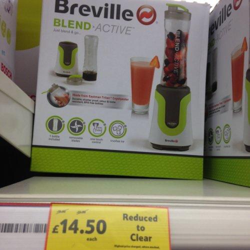 Breville blend active only £14.50 instore at Tesco