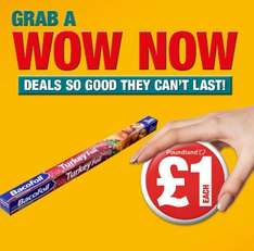 Bacofoil 3m for £1 @ Poundland (also at Lidl)