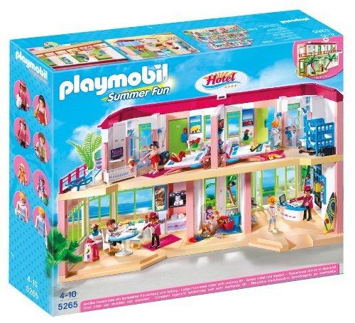 Playmobil Summer Fun 5265 Large Furnished Hotel £40 @ Amazon