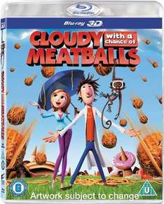 Cloudy With a Chance Of Meatballs on Bluray 3D only £4.00!! Online and instore at CEX.