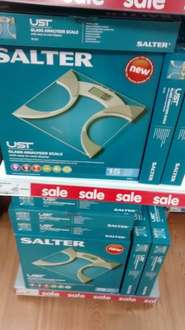 Salter glass analyser scales £10 @ Asda living leeds