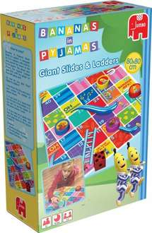 Giant Bananas in Pyjamas Giant Snakes (Slides) and Ladders £2.99 (£2.24 with code) @ The Works