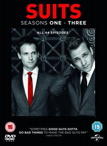 Suits - Season 1-3 [DVD] [2013] £15.00 delivered @ Amazon