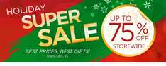 CyberLink Holiday supersale 75% off