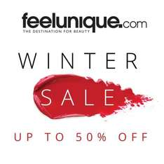 Up to 50% off sale @ Feel Unique