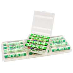 """7dayshop """"GOOD TO GO"""" AA Pre-Charged Long Life Rechargeable Batteries 2150mAh - 16 Pack £18.99"""