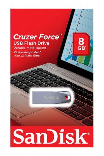 Cruzer Force 8gb USB Flash Drive £2 @ Tesco instore