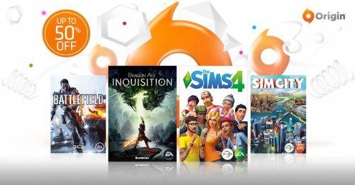 up to 50% off Origin. Sim4 £24.99. PVZ £7.50. BF4 £7.50 @ EA Origin