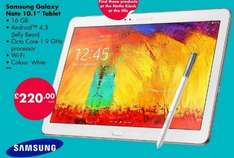 Samsung Galaxy Note 10.1 (white) £220 @ Netto