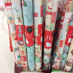 Gift wrap 8m 49p @ Marks and spencer
