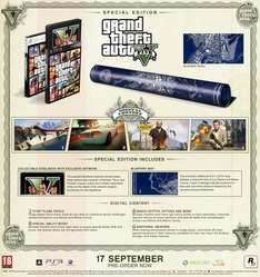 Grand Theft Auto V 5 Special Edition - PS3 - £14.99 @ GAME