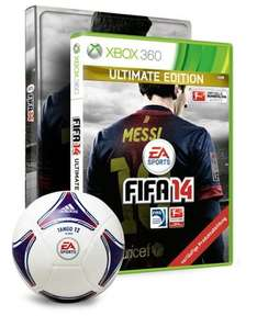 FIFA 14 GAME Exclusive Collectors Edition Xbox 360 / PS3 £18.99 @ game + Quidco/topcashbash
