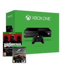 Xbox One Console + Forza 5 GOTY (And Wolfenstein Or The Evil Within Or Rabbids Invasion) - £299.86 - Shopto