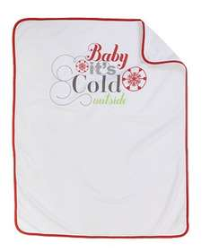 Mothercare baby it's cold outside blanket £5.00