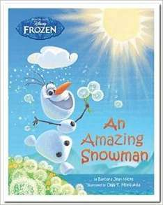 Disney Frozen An Amazing Snowman Story Book for £2.50 from Marks and Spencer (free click and collect)