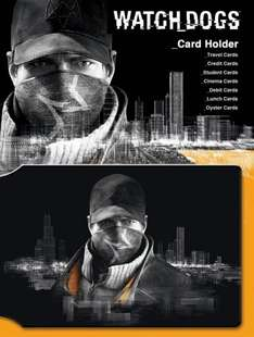 Watch Dogs Aiden Travel Pass Card Holder £1.00 @ GAME