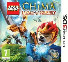 LEGO Legends of Chima: Laval's Journey (Nintendo 3DS) only £6.99 delivered @ game