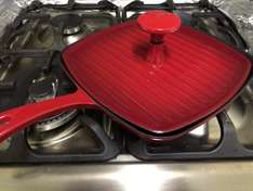 Griddle Pan with Grill Bar - £16.66 @ Sainsbury's