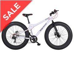 Coyote Fatman Fat Bike (Grey, white or Black) snow / sand Men's Bike now £349.99 on go outdoors