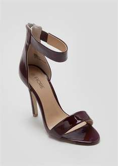 Patent Strappy Sandal Was £15.00 Now £7.00 @ Matalan online