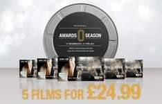 ODEON 5 Tickets for £24.99