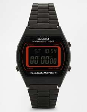 Casio Digital Black Stainless Steel Strap Watch -£27.00 at ASOS
