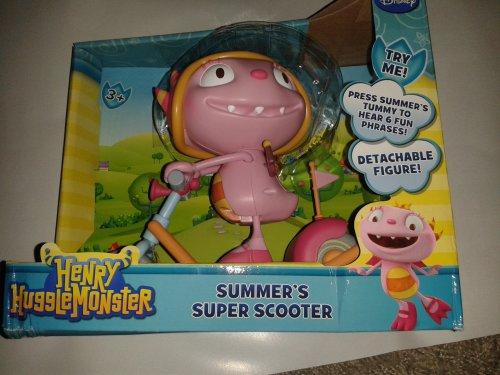 Henry Hugglemonster Summer's Super Scooter @ Smyths £3.99.