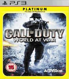 Call of Duty: World at War Platinum (PS3) only £1.99 delivered @ game (preowned)