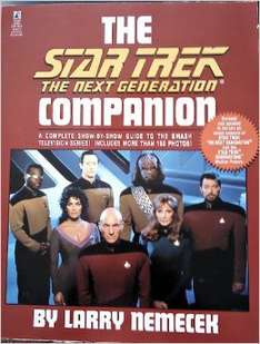 The Star Trek the Next Generation Companion (book, used) from £0.44 @ amazon (prime / £10 spend)