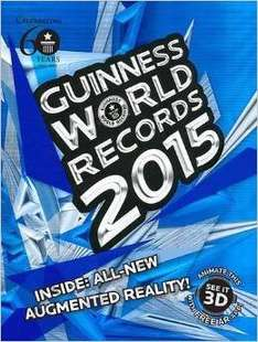 Guiness world record 2015 3D £3.00 @ Tesco