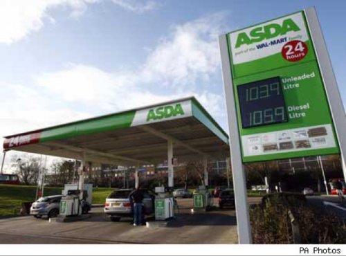 Asda petrol down again today Petrol 109.7p  Diesel 116.7p