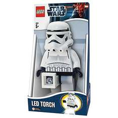 Lego Stormtrooper LED Torch @ John Lewis - £7.99 (RRP is £15+)